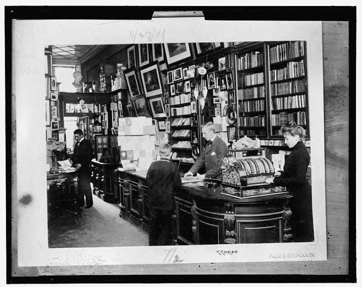 1899 bookstore