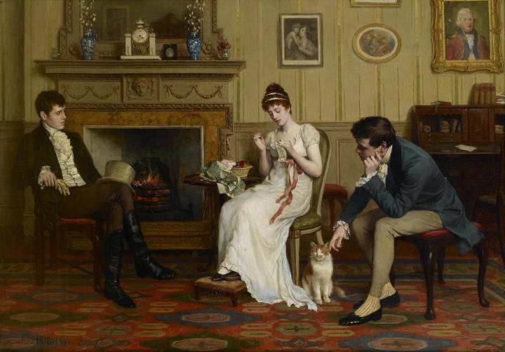 Charles Haigh Wood - The Patient Competitors