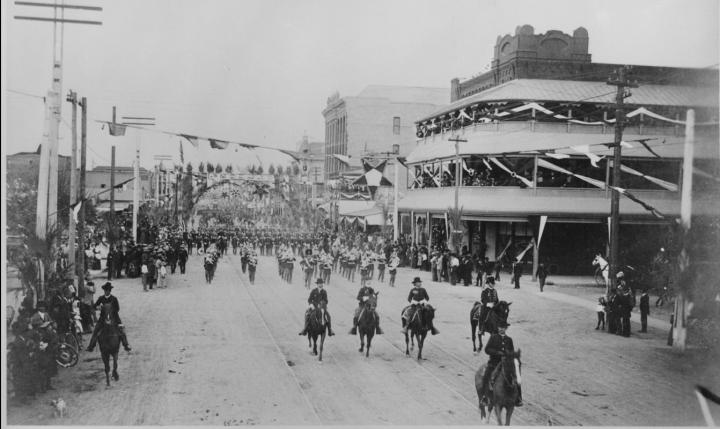 1888 military parade phoenix arizona