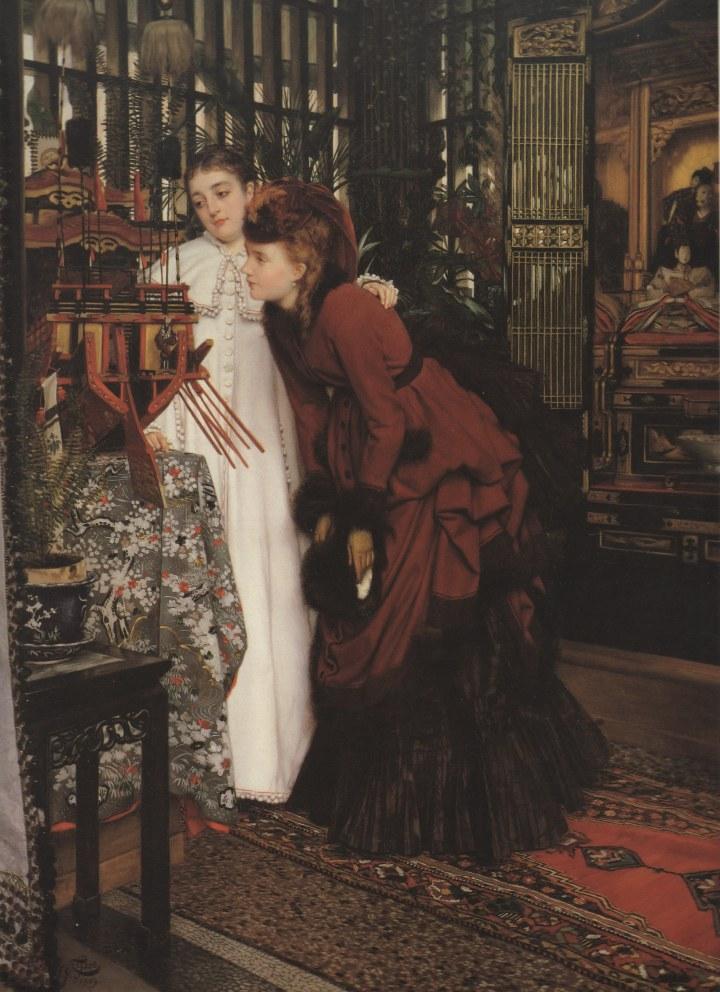 1869 t jeunnes femmes objets japonaise